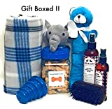 Wolfe & Sparky Gift Boxed Deluxe Blue Dog Gift...