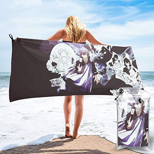Toalla de secado rápido, perfecta para deportes, viajes, playa, suave, de secado rápido, apta para camping, gimnasio, playa, natación, bolsa de viaje de 31,5 x 63 x 139,7 cm