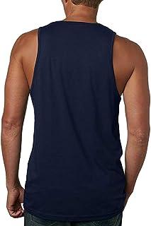 メンズ タンク Tシャツ 夏 メンズ ノースリーブ かっこいい 無地 タンクTシャツ トップス