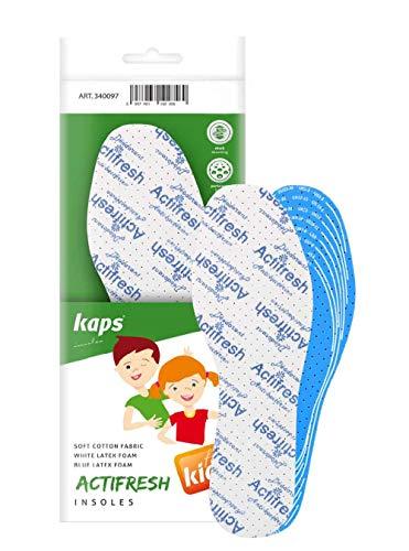 Plantillas de Calzado Para Niños Higiénico, Suaves Y Ajustables Con Espuma De Látex Tehchnology...