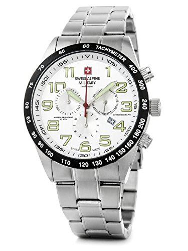 Swiss Alpine Military 7047.9132 Heren horloge 46 mm