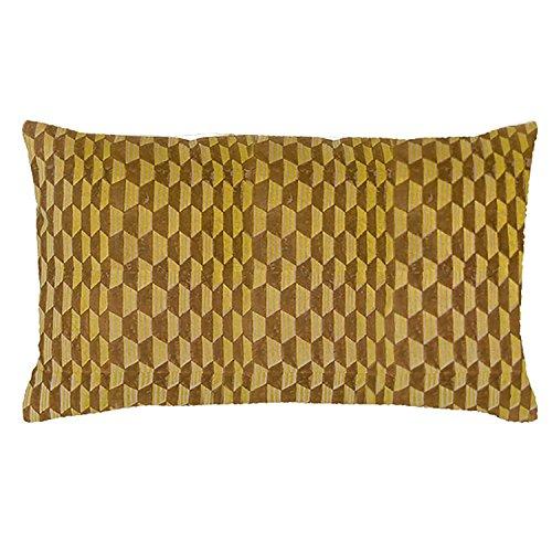 Vivaraise - Coussin - Coussin décoration - Coussin décoratif – Coussin rectangulaire - Coussin canapé - Coussin intérieur - Coussin Multifonctions - 30 x 50 - Argile Naturel - Rosetta