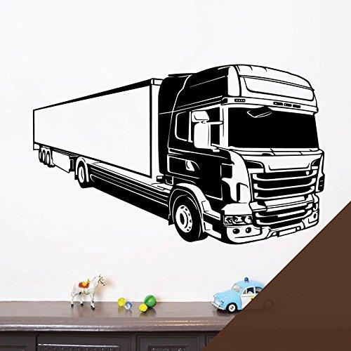 Wandtattoo / Wandaufkleber, Motiv LKW Scania Volvo LKW