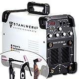 STAHLWERK AC/DC WIG 200 Plasma ST IGBT - Kombi 200 Amp WIG + MMA Schweißgerät mit 50 Amp CUT...