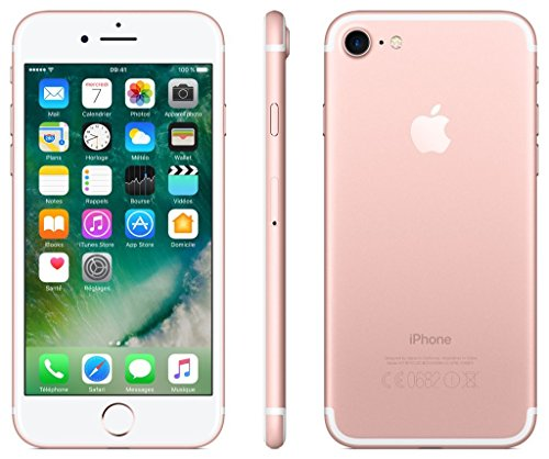 Apple iPhone 7 128GB - Roségold - Entriegelte (Generalüberholt)