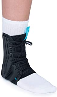 Ossur Formfit Ankle Brace, Standard Version - Breathable Material, Quick Lace Up & Inversion/Eversion Control (Small)