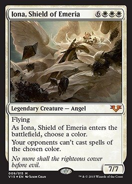 Magic: the Gathering - Iona, Shield of Emeria (009/015) - From the Vault: Angels - Foil by Magic: the Gathering