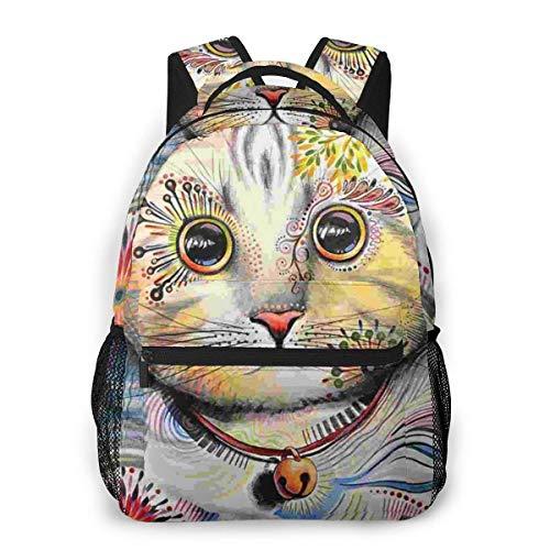 Lawenp Netter Kratzbaum lässiger Rucksack für Schul-Outdoor-Reisen Big Student Fashion Bag