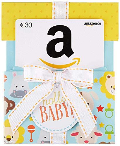 Amazon.de Geschenkkarte in Geschenkkuvert - 30 EUR (Hallo Baby)