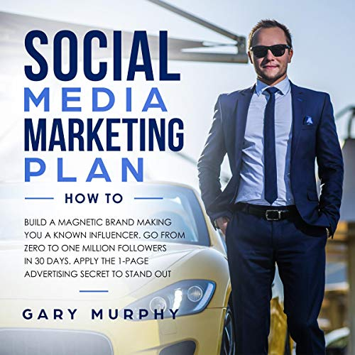 Social Media Marketing Plan How To audiobook cover art
