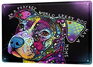 "Bestauseller Tin Sign Ravtive Vet Practice Perfect World 12""X8""(20x30cm)"