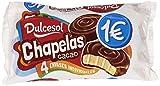 Dulcesol - Chapelas Cacao - Bizcocho cubierto de cacao - 4 unidades...