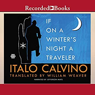 If on a Winter's Night a Traveler audiobook cover art