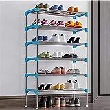 Tamaño del Almacenamiento del Organizador de Zapatos: 582794cm Pasillo y guardarropa (Color : Blue, Size : 58 * 27 * 94cm)