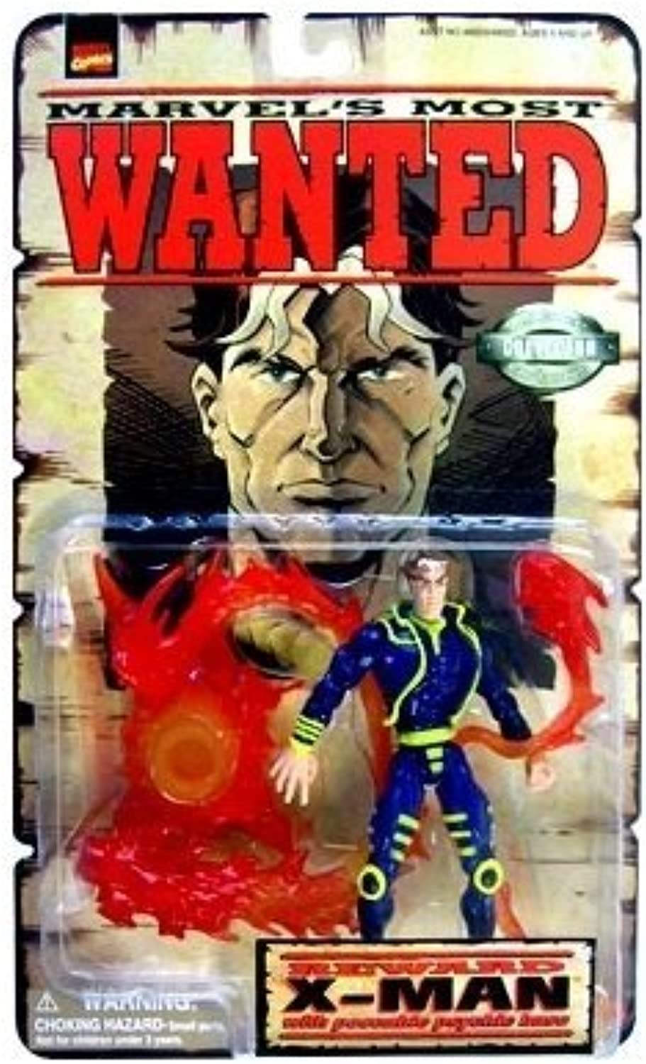 Marvels Most Wanted   XMan Action Figure by X Men