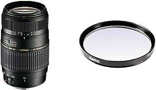 Tamron A17E - Objetivo para Canon (70-300 mm f/4-5.6 Macro AF 62 mm) Color Negro + Hama 070062 - Filtro Ultravioleta Color Neutro 62 mm