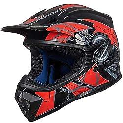 ILM Adult Youth Kids ATV Motocross Helmet