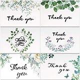 Cartolina di Auguri, Thank You Cards, Floreale Biglietti di Auguri di Ringraziamento 36 Pe...