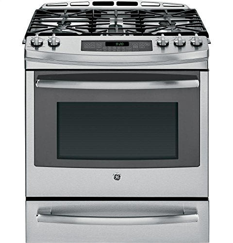 GE PGS920SEFSS Profile 30' Stainless Steel Gas Slide-In Sealed Burner Range - Convection