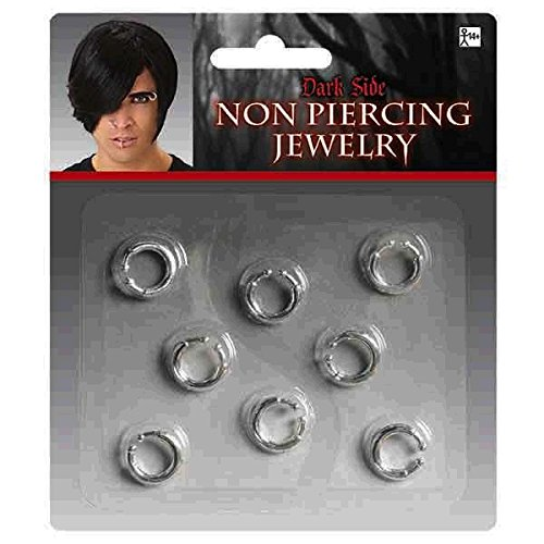 Amscan Non-piercing Jewelry 8 pieces