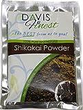 Davis meilleurs Shikakai Acacia Concinna Savon Pod Poudre–Savon Naturel Shampoing et après-shampoing Nettoyant profond pour cheveux brillants Brillance et traitement de la croissance (100g)