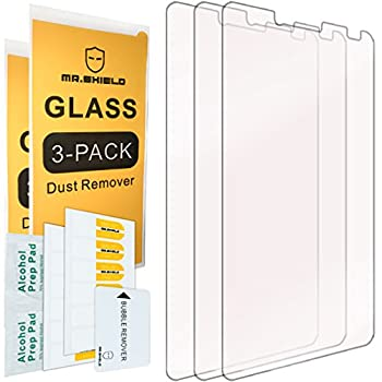 [3-PACK]-Mr.Shield Designed For Alcatel OneTouch Fierce XL [Tempered Glass] Screen Protector with Lifetime Replacement