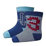 Lego Wear Jungen Socken duplo AMIR 302, 2er Pack, Gr. 22 (Herstellergröße: 22/24), Blau (Dark Blue 578)