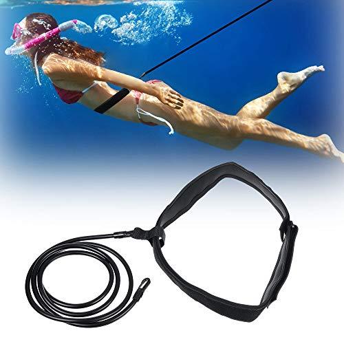 WEARRR 2/3 / 4x6x10m Bandas de Resistencia de natación Nadar Cinturones de Entrenamiento de arnés Hielo de natación estática con Bolsa de Almacenamiento Bandas de Ejercicios (Color : M)