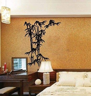 BailongXiao Nuevo Papel Tapiz de decoración para el hogar y Pegatinas de bambú extraíbles de Arte 270x216cm