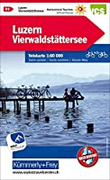 Schweiz Velokarte 11 Luzern - Vierwaldstaetter See 1 : 60 000: 1:60 000, waterproof