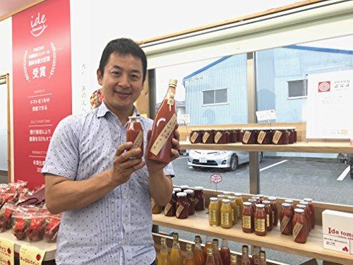 井出トマト農園桃太郎トマトジュース720ml/ストレート低塩国産