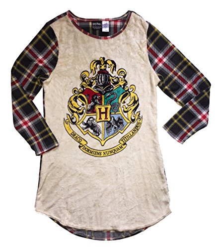 Harry Potter Women's Fleece Nightgown Sleep Shirt (2X/3X)