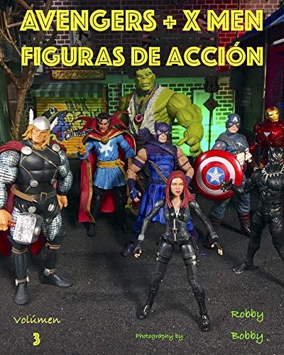 Avengers + X Men: SUPERHÉROES (FIGURAS de acción nº 3)