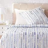AmazonBasics - Juego de ropa de cama con funda de edredón, de satén,...