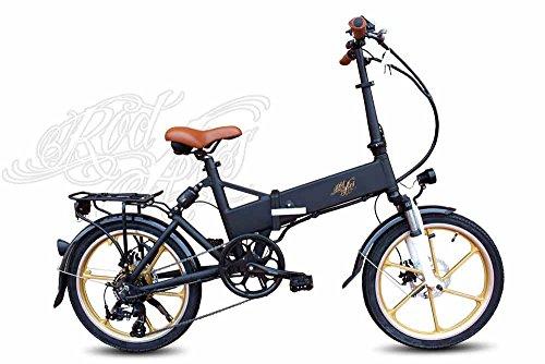 Pedelec eBike Bicicleta Eléctrica Plegable Doble Suspensión Rocket 250W 10,4Ah Samsung 25km/h Autonomía 45-65km