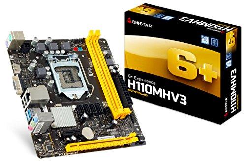 Placa Mãe 1151 H110MHV3 DDR3 Biostar