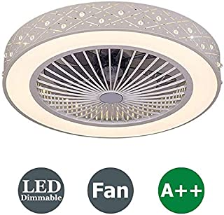 LUYIYI LED Lighting and Quiet Fan Original Remote Control Children's Bedroom