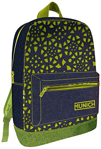 Munich Fantasy Mochila Tipo Casual, 45 cm, 19 Litros, Verde