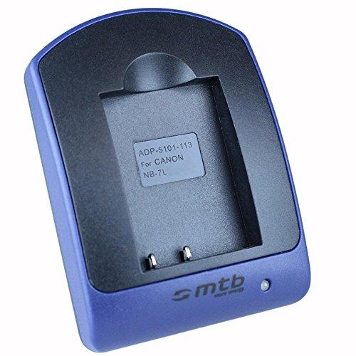 Cargador (Micro-USB, sin Cables/adaptadores) para Canon NB-7L / PowerShot G10, G11, G12,...