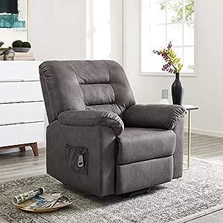 Naomi Home Fayette Lift & Recline Chair Gray