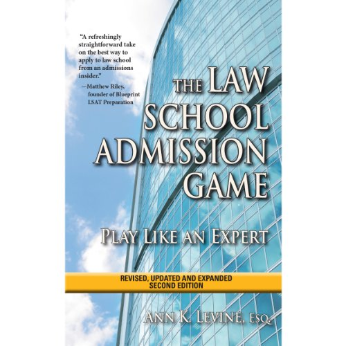 The Law School Admission Game audiobook cover art