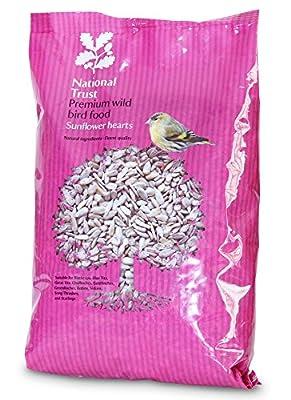 National Trust Sunflower Hearts 12.75kg from Cherish Wild Bird Food Ltd