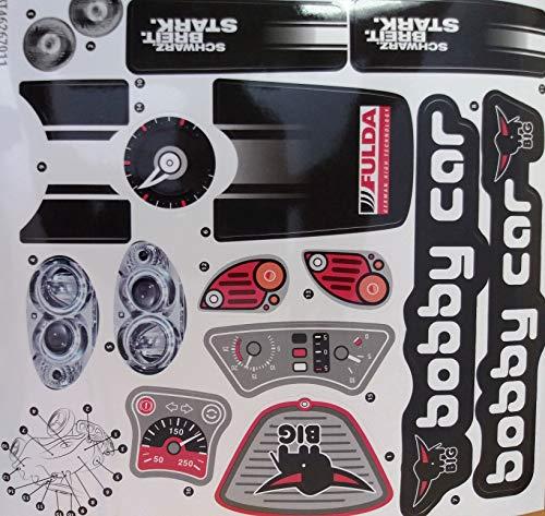 BIG Bobby Car Stickers Fulda für Fulda New Bobby Car oder alle Anderen New Bobby Cary Car