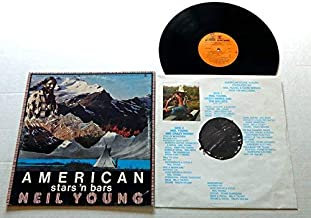 Neil Young American Stars N Bars - Reprise Records1977 - Used Vinyl LP Record - 1977 Pressing - Like A Hurricane - Star Of Bethlehem - Bite The Bullet