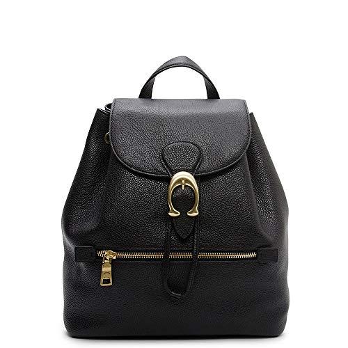 Coach Evie Ladies Medium Black Leather Backpack 68380B4BK