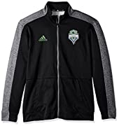 100% polyester two-tone full zip Track jacket Self-fabric cuffs & waistband with adizero drawcord Part of the adidas perforamance package for the MLS Officially licensed logos By adidas, the official outfitter of the MLS