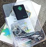 Traceur & micro-espion Mini-A8 Localisation GSM en environnement réseau - micro écoute proche environnements - bouton SOS rappel Automatique