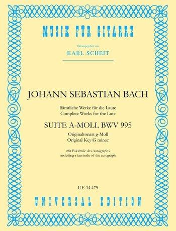 Suite a-Moll Bwv 995. Gitarre