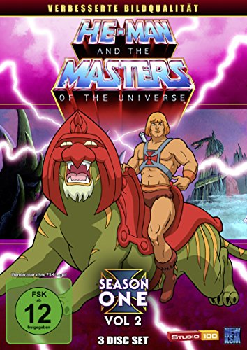 He-Man and the Masters of the Universe - Season 1, Volume 2: Folge 34-65 [3 DVDs]