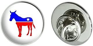 Democrat Donkey Liberal America Political Party Metal 0.75